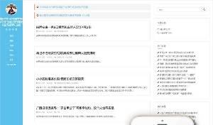 响应技术博客新闻信息织梦模板(自适应手机)进行SEO优化