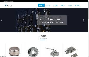 响应式齿轮设备网站织梦模板(自适应移动电话)