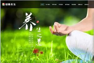 响应性Meridian健康与健康网站Dreamweaver模板(自适应移动)PC wap for SEO Optimization
