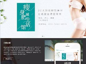 响应女性的减肥和维护业务网站模板(自适应手机)的SEO优化