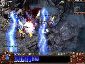 传奇3是一款单机版游戏 光通1.45服务端一键安装,后台爆率修改等功能 原版13魔法