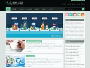 WordPress中文博客主题,一个完美的风影博客主题