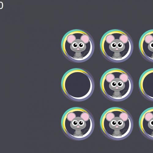 小游戏 原生js打地鼠网页小游戏代码