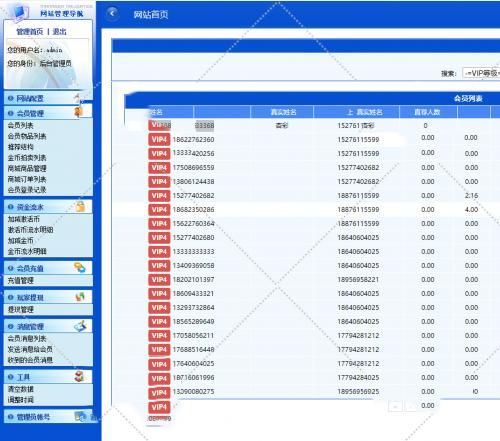 红包理财金融投资静态分红返利系统源码/多级分销二维码推广平台/安装教程