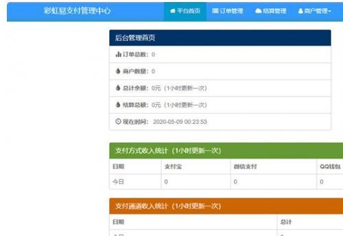 2020彩虹易支付全解最新版
