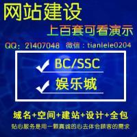 BC/鱼乐城-网站定制搭建开发200套模板可看演示