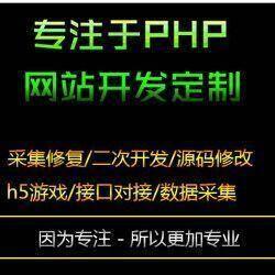 源码器采集器修复/php程序一条龙搭建/维护